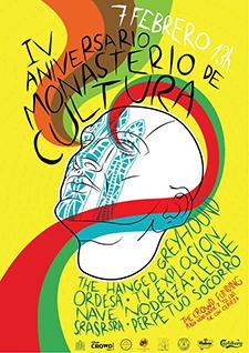 4 Aniversario Monasterio de Cultura(7 Febrero, The Crowd Funding)