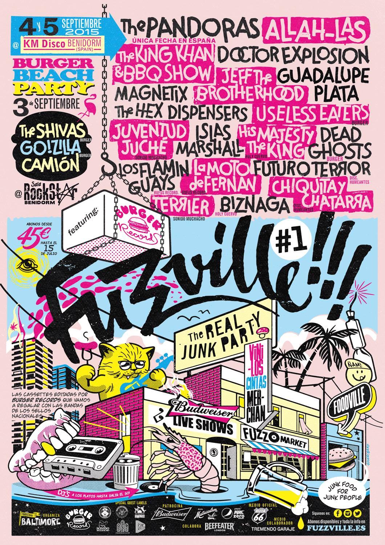 FUZZVILLE 2015